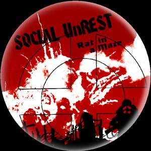SOCIAL UNREST RAT button