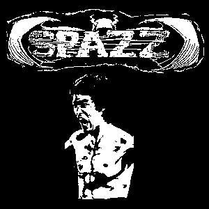 SPAZZ sticker