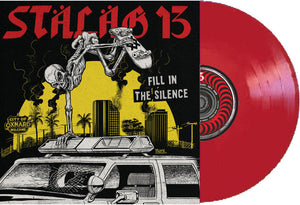 Stalag 13 ‎- Fill In The Silence NEW LP (red vinyl)