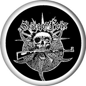 STATE OF FEAR SKULL button