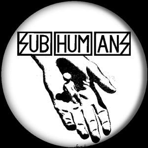 SUBHUMANS CRADLE button