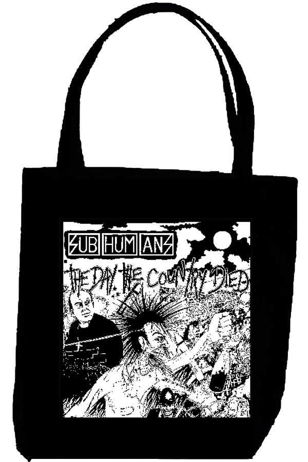 SUBHUMANS DAY tote