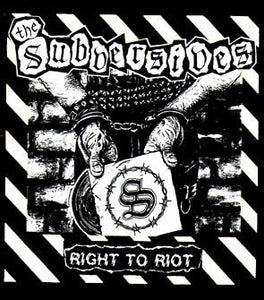 SUBVERSIVES back patch