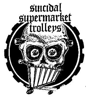 SUICIDAL SUPERMARKET TROLLEYS patch