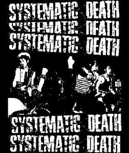 SYSTEMATIC DEATH back patch