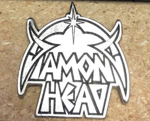 DIAMOND HEAD LOGO METAL BADGE