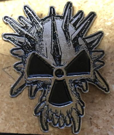 CORROSION OF CONFORMITY SKULL ONLY METAL BADGE