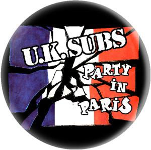 UK SUBS PARIS button