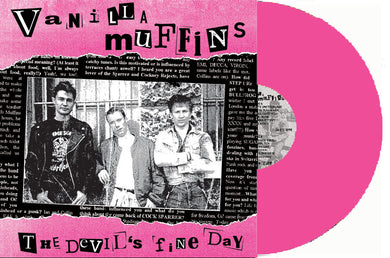 Vanilla Muffins - The Devils Fine Day NEW LP (pink vinyl)