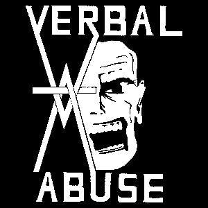 VERBAL ABUSE sticker