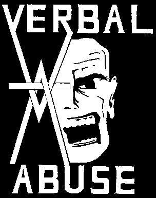 VERBAL ABUSE back patch