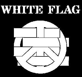 WHITE FLAG LOGO back patch