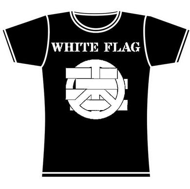 WHITE FLAG LOGO GIRLS TSHIRT