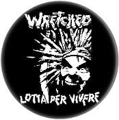 "WRETCHED 1.5""button"