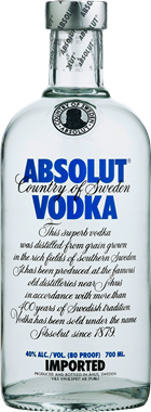 Absolut Vodka - NordicExpatShop