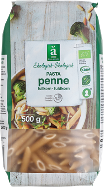 Änglamark Whole Grain Pasta Penne - NordicExpatShop