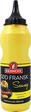 Bähncke Sweet French Mustard - NordicExpatShop