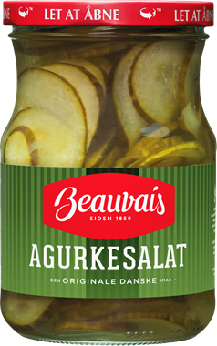 Beavuais Pickled Cucumber Salad - NordicExpatShop