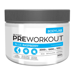 BodyLab Pre-Workout with BCAA - NordicExpatShop