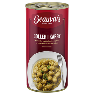Beauvais Meatballs in Curry - NordicExpatShop