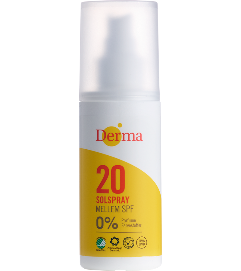 Derma Sun Spray SPF20 - NordicExpatShop