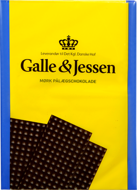 Galle & Jessen Dark Chocolate Plates - NordicExpatShop
