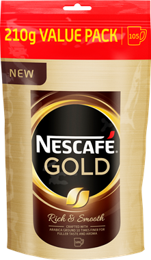 Nescafé Gold Value Pack - 0,21 Kg - NordicExpatShop