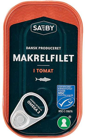 Sæby Mackerel in Tomato Sauce