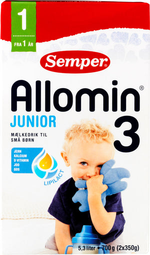 Semper Allomin 3 Junior Milk Formula 12+ Months