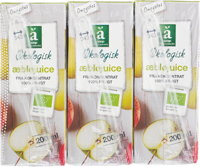 Änglamark Organic Apple Juice Bricks - NordicExpatShop