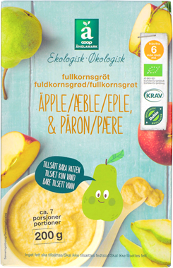 Änglamark Porridge Apple & Pear - NordicExpatShop