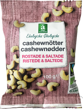 Änglamark Roasted & Salted Cashew Nuts - NordicExpatShop