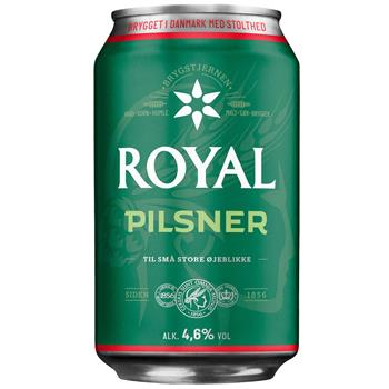 Royal Pilsner 0,33 L - NordicExpatShop