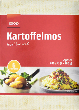 Coop Mashed Potatoes - NordicExpatShop