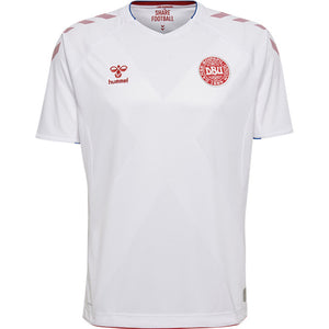 Danish National Football Jersey / White - NordicExpatShop