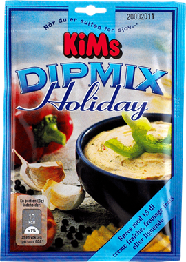 KiM's Holiday Dipmix - NordicExpatShop