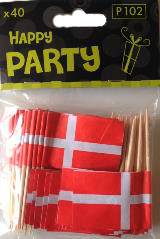 Danish Toothpick Flags - NordicExpatShop