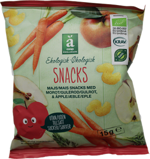Änglamark Snacks Carrot & Apple - NordicExpatShop