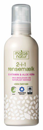 Matas Natur 2- in-1 Cleansing Milk