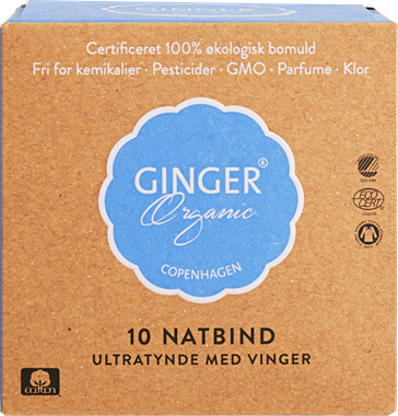 Ginger Organic Sanitary Napkins Night