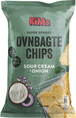 KiM's Oven Baked Sour Cream & Onion Chips