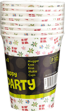 Happy Party Drink Cups - NordicExpatShop