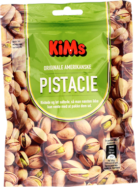 KiM's Roasted & Light Salted Pistacio Nuts - NordicExpatShop
