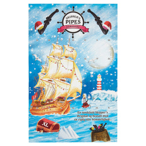 Cloetta Skipper Pipes Christmas Calender
