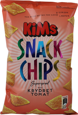 KiM's Spicy Tomato Chips - NordicExpatShop