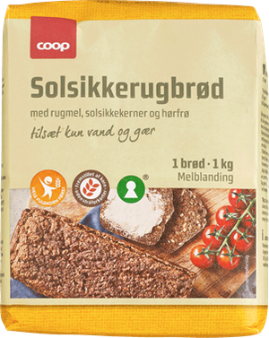 Coop Sunflower Rye Bread Mix - NordicExpatShop