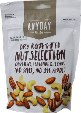 Anyday Nuts Dry Roasted Nut Selection - NordicExpatShop