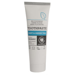Urtekram Organic Mint & Green Tea Toothpaste