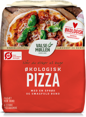 Valsemøllen Organic Pizza Mix