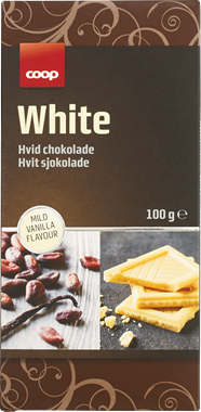 Coop White Chocolate - NordicExpatShop